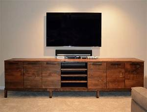 Reclaimed wood media center console abodeacious for Barnwood media cabinet