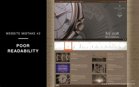 7 Common Mistakes Made By Luxury Websites  Moonshot Digital