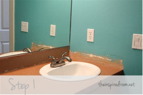 diy faux tin ceiling tile  splash  inspired room