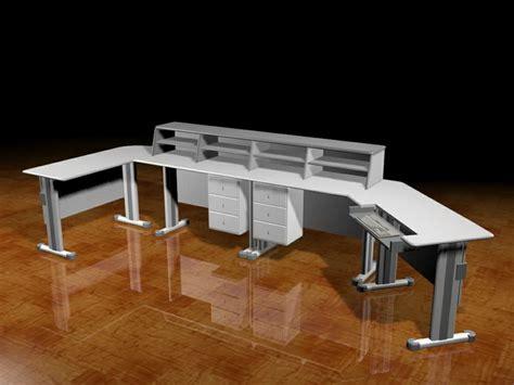 studio workstation desk  model dsmax files