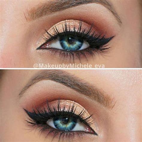 awesome eye makeup   blue eyes pretty designs