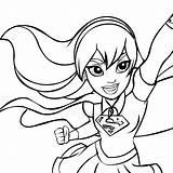Supergirl Coloring Colorare Superhero Dc Colorear Hero Disegni Dibujos Stampare Piano Heroes Pp Disegno Batgirl Delle Dibujo Colorir Supereroi Cartonionline sketch template