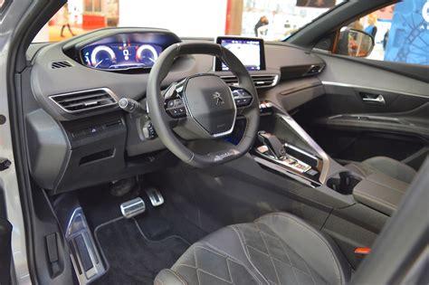 peugeot interior 2017 peugeot 5008 bologna motor show live