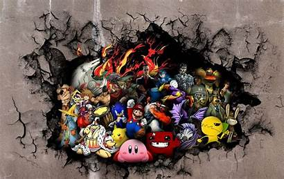Desktop Collage Characters Games Backgrounds 1080p Gaming