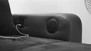 Sofa Mit Led Und Sound : wohnlandschaft laredo sofa schwarz mit led und soundsystem ~ Indierocktalk.com Haus und Dekorationen