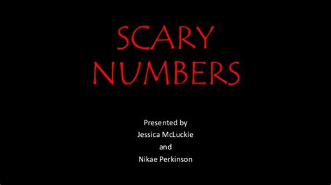 scary phone numbers to call scary numbers