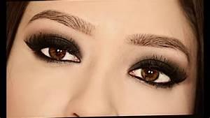 Smokey, Eyes, Ojos, Ahumados, Para, Ojos, Caf, U00e9s