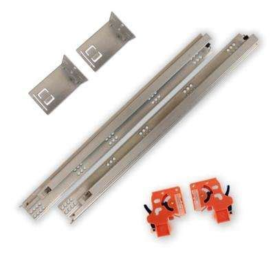 Undermount Sliding Drawer Hardware by Drawer Slides Cabinet Hardware The Home Depot