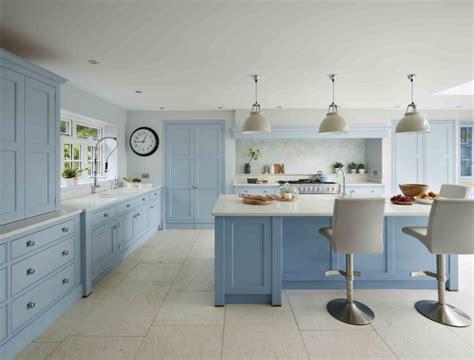 beautiful blue kitchens  english home