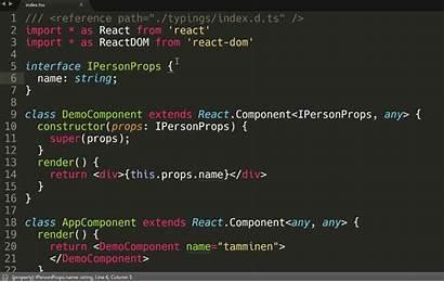 Typescript Example Sublime Shown Simple