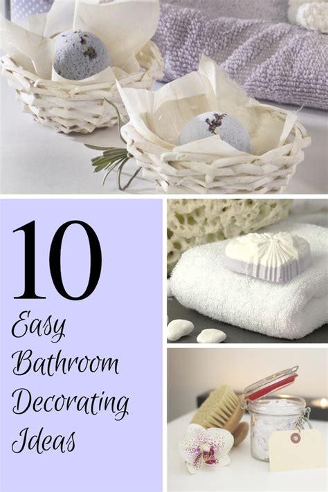 Easy Decorating Ideas For Bathroom by 10 Easy Bathroom Decorating Ideas Knows It All
