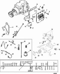 Mercruiser 4 3l Mpi Alpha    Bravo Electrical Components Parts