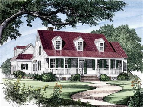 homes with wrap around porches country style southern cottage farm house plans small cottage style