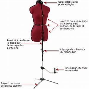 Mannequin Couture Réglable Professionnel : materiel couture mannequin ~ Teatrodelosmanantiales.com Idées de Décoration
