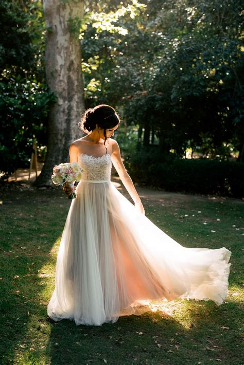 Discount Open Back Lace And Tulle Wedding Dressfashion