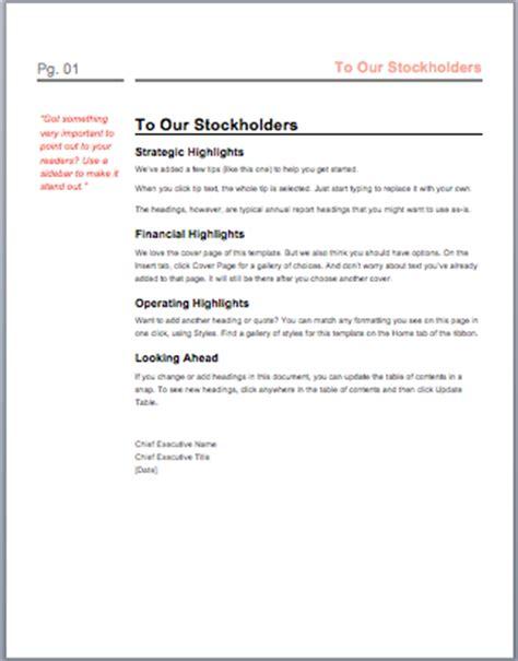 microsoft word report templates annual report template microsoft word templates