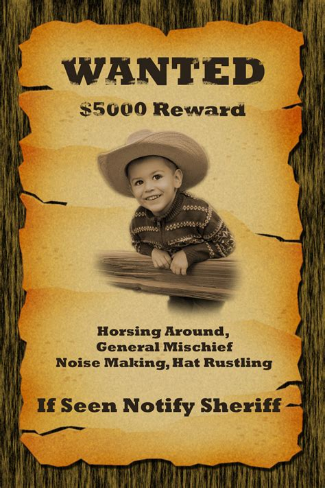 wanted-poster | George Peirson Training