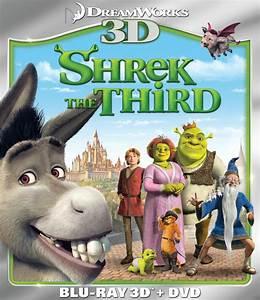Shrek the Third DVD Release Date November 13, 2007