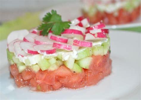 cuisine froide ma cuisine entree froide tartare de tomates