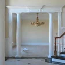 interior home columns house columns home house plans
