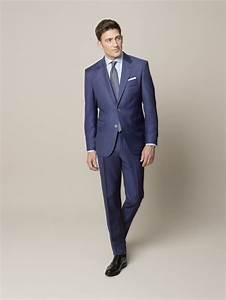 Blauer Anzug Schuhe : trendfarbe blau iii drei anz ge drei looks eine farbe um ihnen die suche nach ihrem ~ Frokenaadalensverden.com Haus und Dekorationen