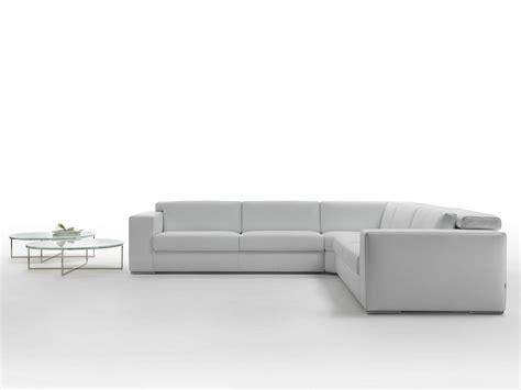 repose tete canapé canapé d 39 angle en cuir avec repose tête richmond by giulio
