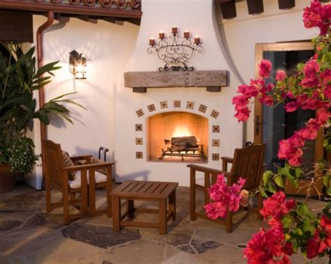 6 Great Outdoor Fireplace Designs  Beautiful Homes Design