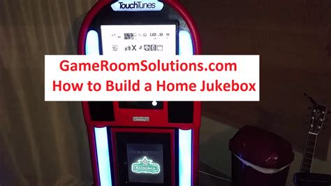 Build A Home Jukebox