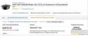 Wmf Gusseisen Bräter : wmf br ter als amazon tagesangebot f r 69 99 ~ Frokenaadalensverden.com Haus und Dekorationen