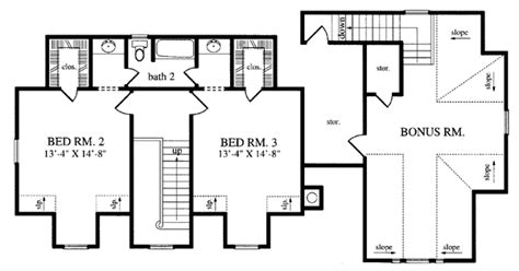 Country Style House Plan 79265 with 1967 Sq Ft 3 Bed 2