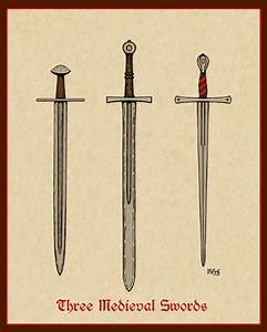 Azure Lion Productions: Three Medieval Swords & Late ...