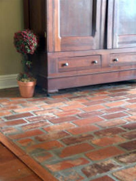 how to clean exposed brick floors questions