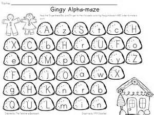 ABC Order Worksheets Kindergarten