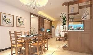 3d interior design dining living room cabinet partition 3d for Interior design living room dining room home reveal