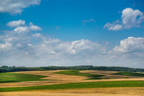 blue sky  countryside fields background high quality