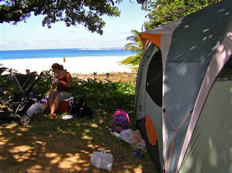 hawaii family camping trip