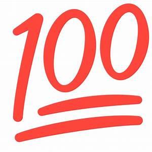 100 Emoji Sign