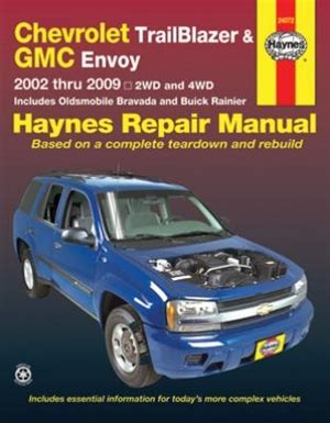 electric power steering 2002 oldsmobile bravada free book repair manuals haynes repair manual for chevy 2002 thru 2009