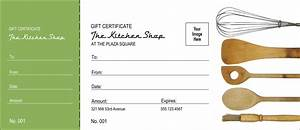 Kitchen Logo Shop Gift Certificate