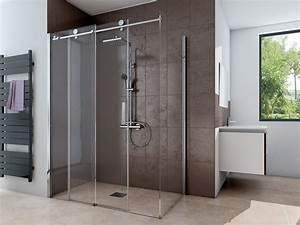 Duschkabine 175 Cm Hoch : dusche mit seitenwand schiebet r 2 teilig 220 cm hoch ~ Michelbontemps.com Haus und Dekorationen