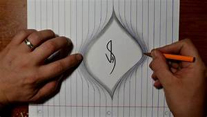Drawing Torn Lined Paper - Cool Easy Trick Art - YouTube
