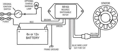 Ducati 200 Wiring Diagram by Alternator Kit 120w For Ducati Single Cylinder 125 250cc