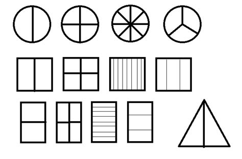 Find A Fractions Of A Shapes Worksheets