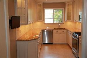 kitchen remodel traditional kitchen With small u shaped kitchen design ideas