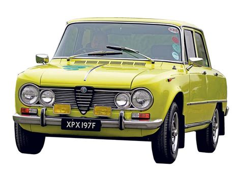 Alfa Romeo 105 Series Giulia Review