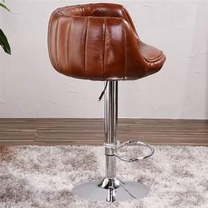 Tabouret De Bar Cuir : vintage en cuir aviateur en aluminium tabouret de bar chaises antiques id de produit ~ Teatrodelosmanantiales.com Idées de Décoration