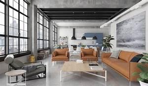 2019 Industrial Modern Living Room Design