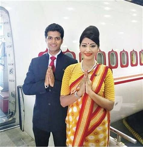 Cabin Crew In Mumbai by Air India Air Hostesses Are All Set To Wear A New