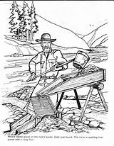 Gold Rush Coloring Pages Colouring Barkerville Mining Billy Printable Barker Panning Klondike Box Cowboys Books Sheets Miner Yumpu Discover sketch template