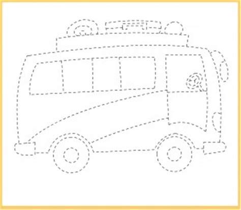 transportation trace worksheet crafts  worksheets  preschooltoddler  kindergarten